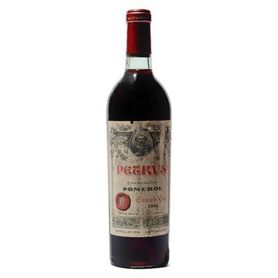 Lot 10 - 1 bottle 1943 Petrus