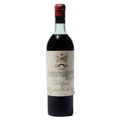 Lot 8 - 1 bottle 1942 Ch Mouton Rothschild