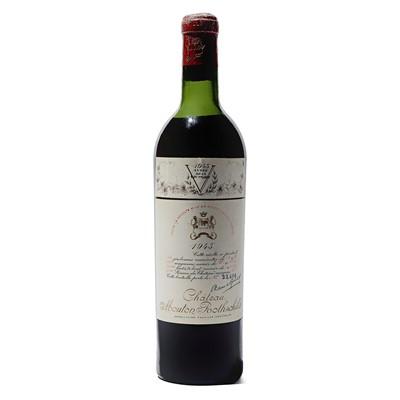 Lot 12 - 1 bottle 1945 Ch Mouton Rothschild