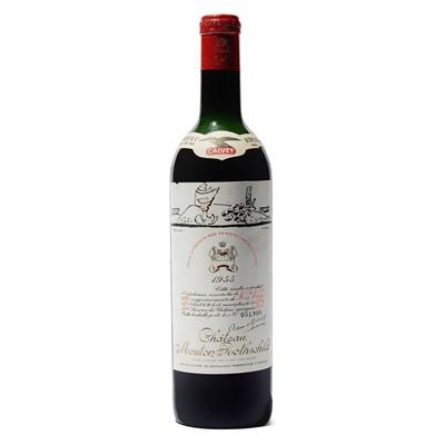 Lot 17 - 1 bottle 1955 Ch Mouton Rothschild
