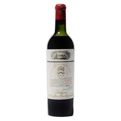 Lot 15 - 1 bottle 1949 Ch Mouton Rothschild