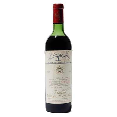 Lot 19 - 1 bottle 1962 Ch Mouton Rothschild