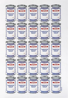 Lot 33 - Banksy (British 1974-), 'Soup Cans Poster', 2010