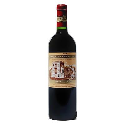 Lot 78 - 9 bottles 1999 Ch Ducru Beaucaillou