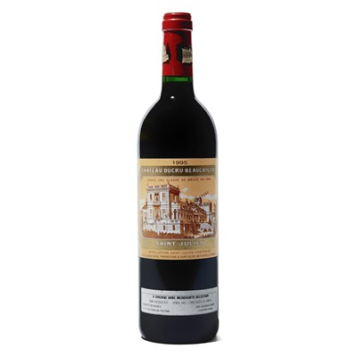 Lot 63 - 4 bottles 1995 Ch Ducru-Beaucaillou