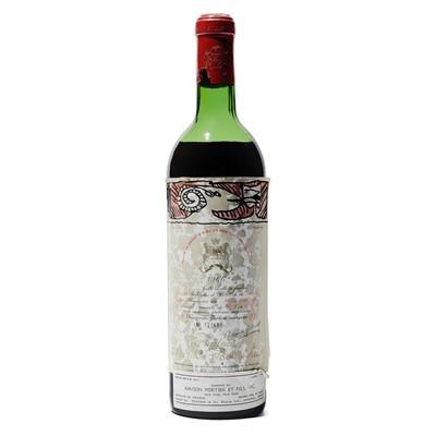 Lot 24 - 1 bottle 1966 Ch Mouton Rothschild