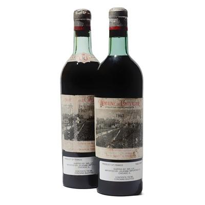 Lot 54 - 2 bottles 1943 Domaine de Chevalier
