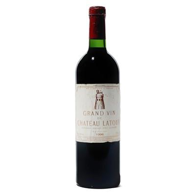 Lot 28 - 1 bottle 1996 Ch Latour