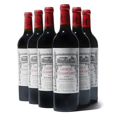 Lot 66 - 6 bottles 2004 Ch L'Eglise Clinet