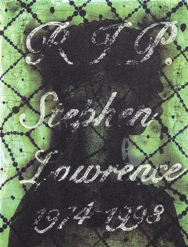 Lot 29 - Chris Ofili (British b.1968), 'R.I.P Stephen Lawrence 1974-1998', 2013