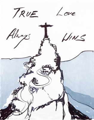 Lot 142 - Tracey Emin (British b.1963), 'True Love Always Wins', 2016