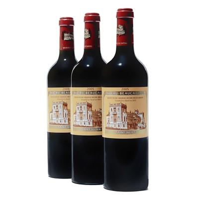 Lot 60 - 3 bottles 2005 Ch Ducru Beaucaillou