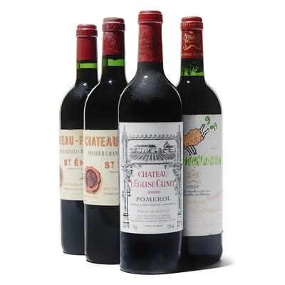 Lot 64 - 4 bottles Mixed Bordeaux