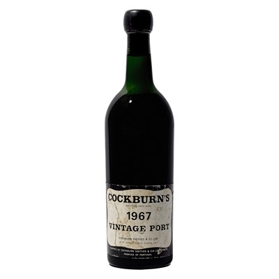 Lot 2 - 1 bottle 1967 Cockburn