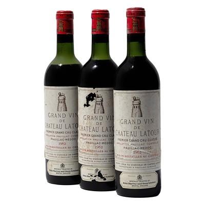 Lot 75 - 9 bottles 1962 Ch Latour