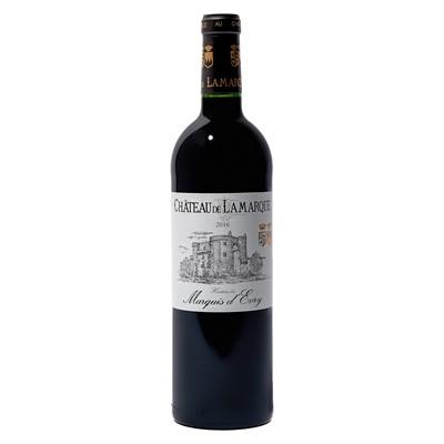 Lot 53 - 12 bottles 2016 Ch de Lamarque