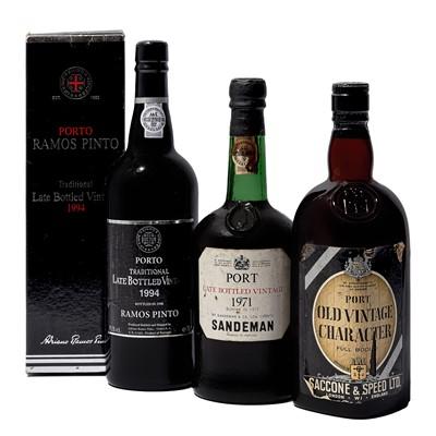 Lot 3 - 3 bottles Mixed Ports
