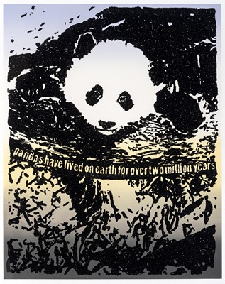 Lot 86 - Rob Pruitt (American 1964-), 'Giant Pandas Spend About 12 Hours a Day Eating', 2019