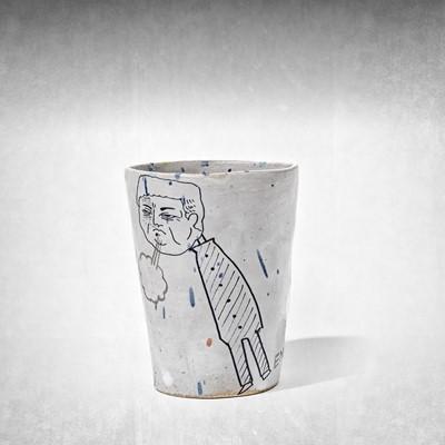 Lot 56 - En Iwamura (Japanese 1988-), 'Doodle Cup', 2018