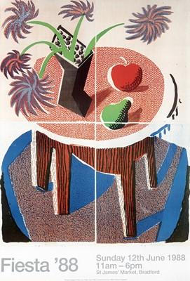 Lot 46 - David Hockney (British 1937-), 'Fiesta', 1988