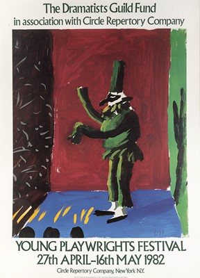 Lot 49 - David Hockney (British 1937-), 'Young Playwrights Festival', 1982