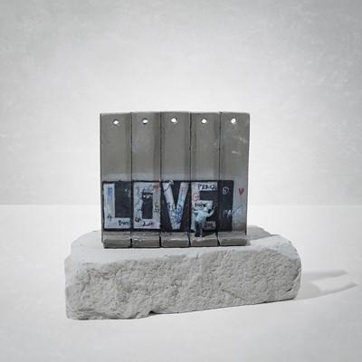 Lot 18 - Banksy (British 1974-), 'Walled Off Hotel - Love'