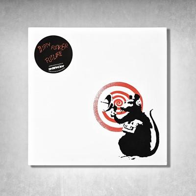 Lot 20 - Banksy (British 1974-), 'Radar Rat - Dirty Funker Vinyl (White)', 2008