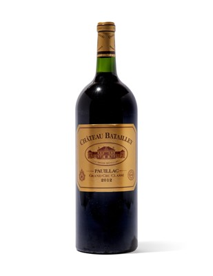 Lot 73 - 6 magnums 2012 Ch Batailley