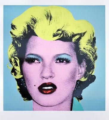 Lot 7 - Banksy (British 1974-), 'Kate', 2005