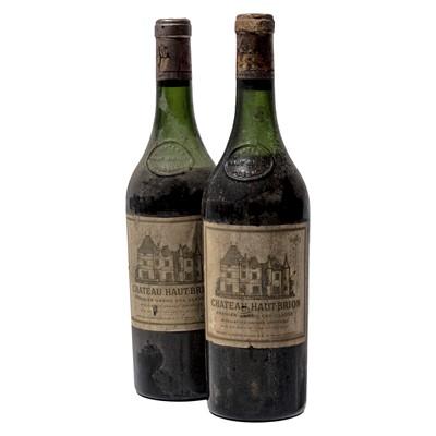 Lot 55 - 2 bottles 1963 Ch Haut Brion