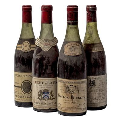 Lot 87 - 4 bottles Mixed Red Burgundy