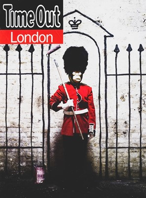 Lot 18 - Banksy (British 1974-), 'Time Out London', 2010