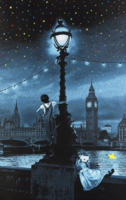 Lot 85 - Roamcouch (Japanese 1976-), 'Wish Upon A Star London (Blue)', 2013