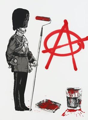 Lot 82 - Mr Brainwash (French 1966-), 'Anarchy Soldier', 2012