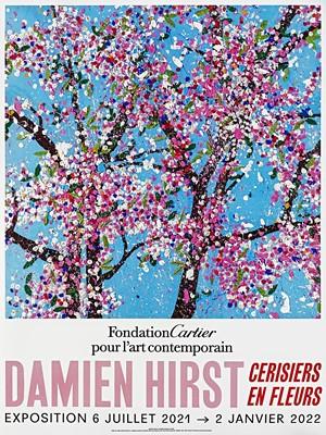 Lot 43 - Damien Hirst (British 1965-), 'Cherry Blossoms', 2021