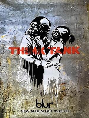 Lot 13 - Banksy (British 1974-), 'Think Tank', 2003