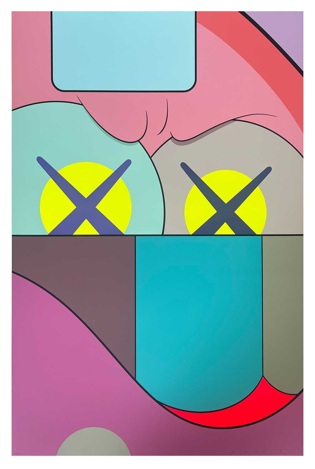 Lot 10 - Kaws (American 1974-), Untitled (from Ups and Downs portfolio), 2013