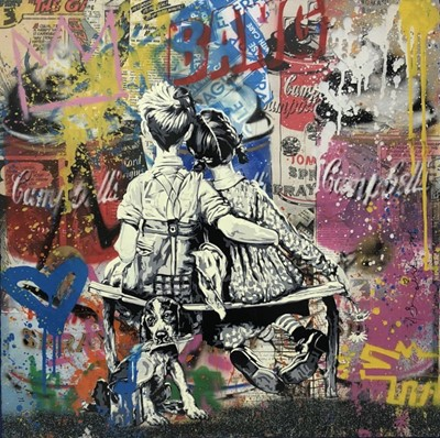 Lot 13 - Mr Brainwash (French 1966-), Work Well Together, 2020