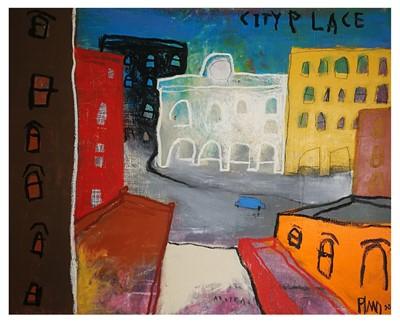Lot 18 - Edgar Plans (Spanish 1977-), City Place, 2008