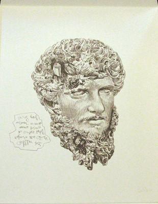Lot 20 - Daniel Arsham (American 1980-), Eroded Classical Prints, 2020