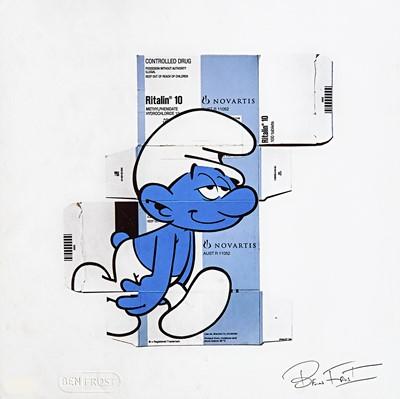 Lot 26 - Ben Frost (Australian 1975-), 'Blurry Smurf', 2020
