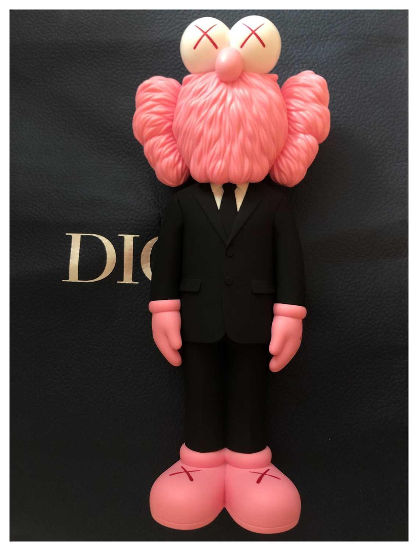 Lot 27 - Kaws (American 1974-), Dior BFF (Pink), 2018