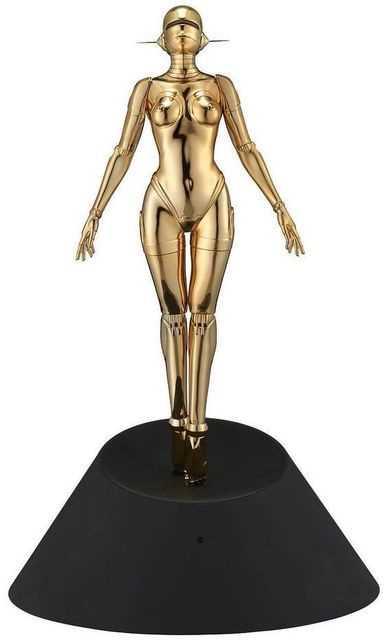 Lot 30 - Hakime Sorayama (Japanese 1947-), Sexy Robot Floating 1/4 Scale (Gold), 2020
