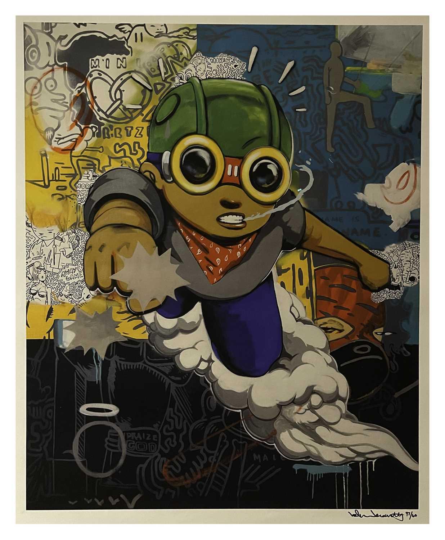 Lot 35 - Hebru Brantley (American 1981-), Advertisement #59, 2015