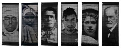 Lot 72 - Ai Weiwei (Chinese 1957-), Portrait Banners (Set of Six), 2018