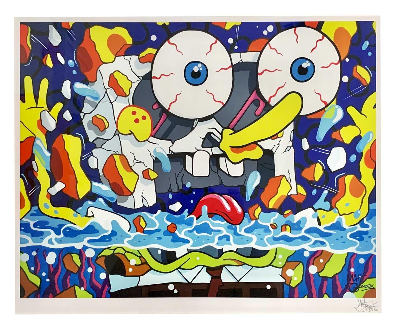 Lot 73 - Matt Gondek (American 1982-), Sponge Pop, 2016