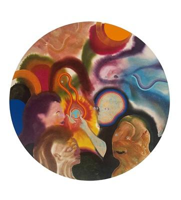 Lot 54 - Aaron Johnson (American 1975-), Birth of the Earth, 2020