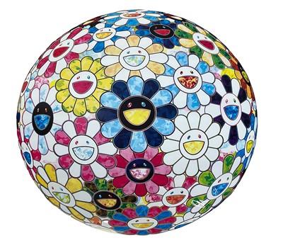 Lot 60 - Takashi Murakami (Japanese 1962-), The Flowerball's Painterly Challenge, 2016