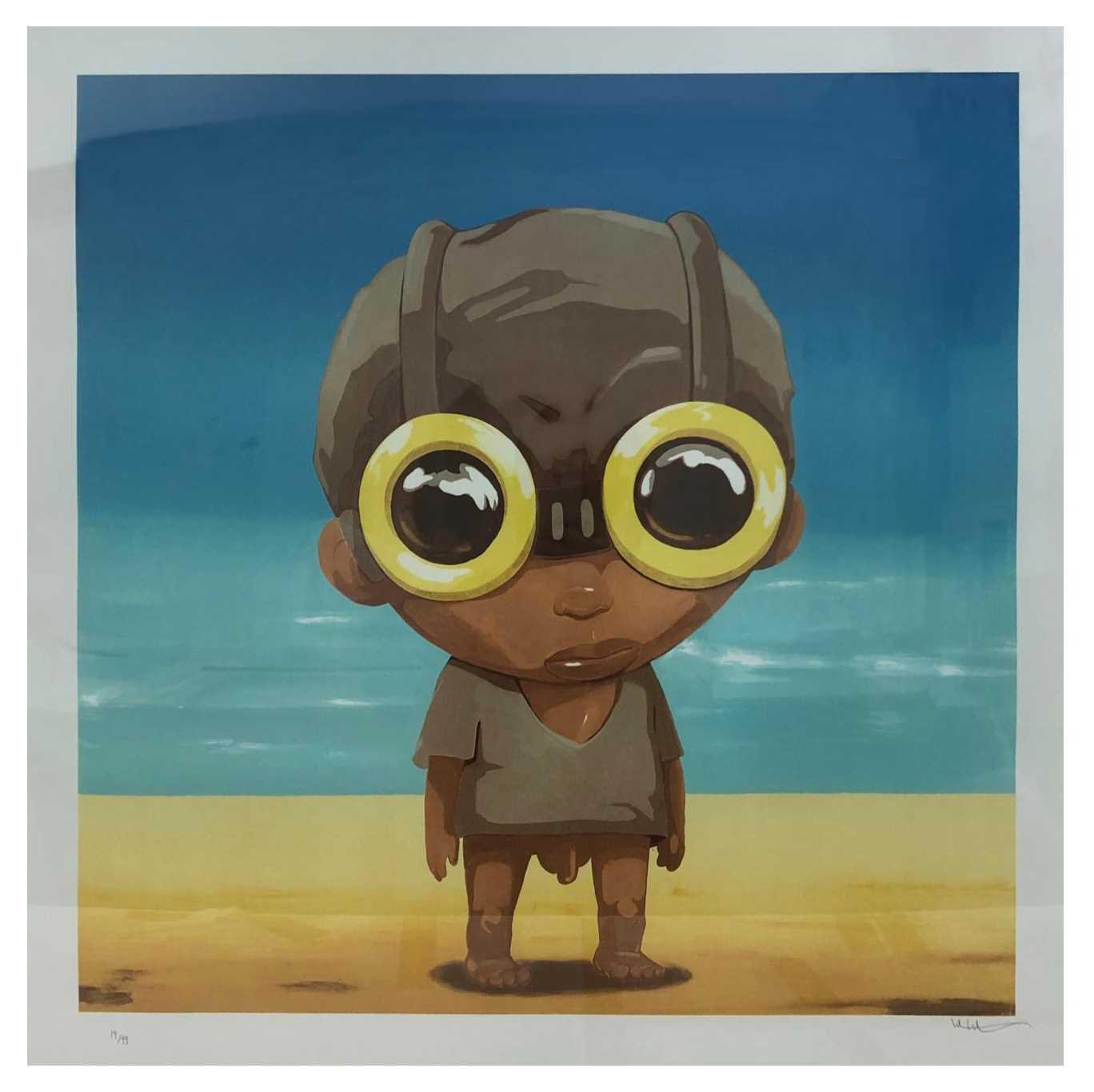 Lot 57 - Hebru Brantley (American 1981-), Little Big Head, 2020